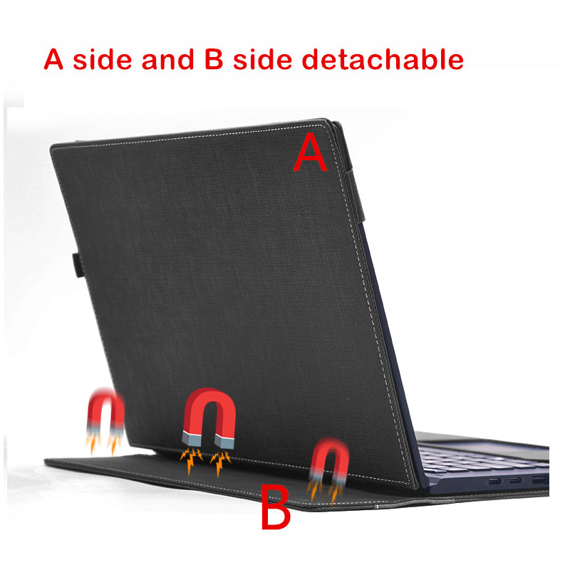 Detachable Cover For Lenovo ThinkPad X1 Yoga 2017 14 Inch Laptop Sleeve Case Notebook Bag Tablet PU Leather Protective Skin Gift