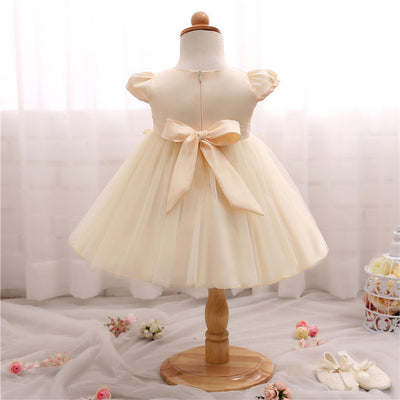 d9ba117f7727 Baby Frock Designs Toddler Girl Party Wear Kids Clothes Infant Tutu 1