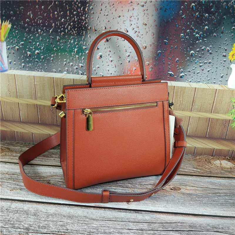 High Quality Fashion Shoulder Bags Genuine Leather Women's Shoulder Slung Handbags Chain Crossbody Messenger
