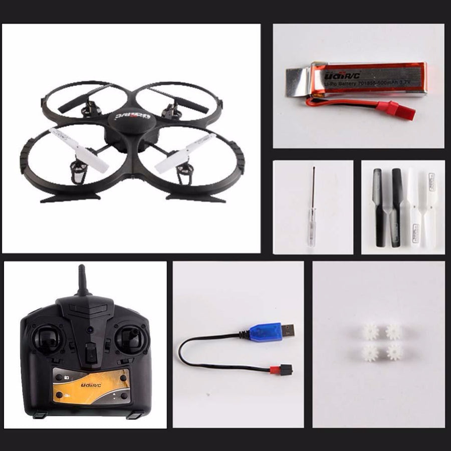 UFO U818A 2.4GHz Gyro Quadcopter Drone RC Helicopter SYNC IMAGE Mode Remote