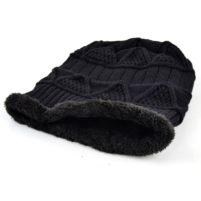 6e05805a Brand hat men Winter Beanies women Knitted wool bonnet Plus velvet Soft  Beanie Autumn man Cap
