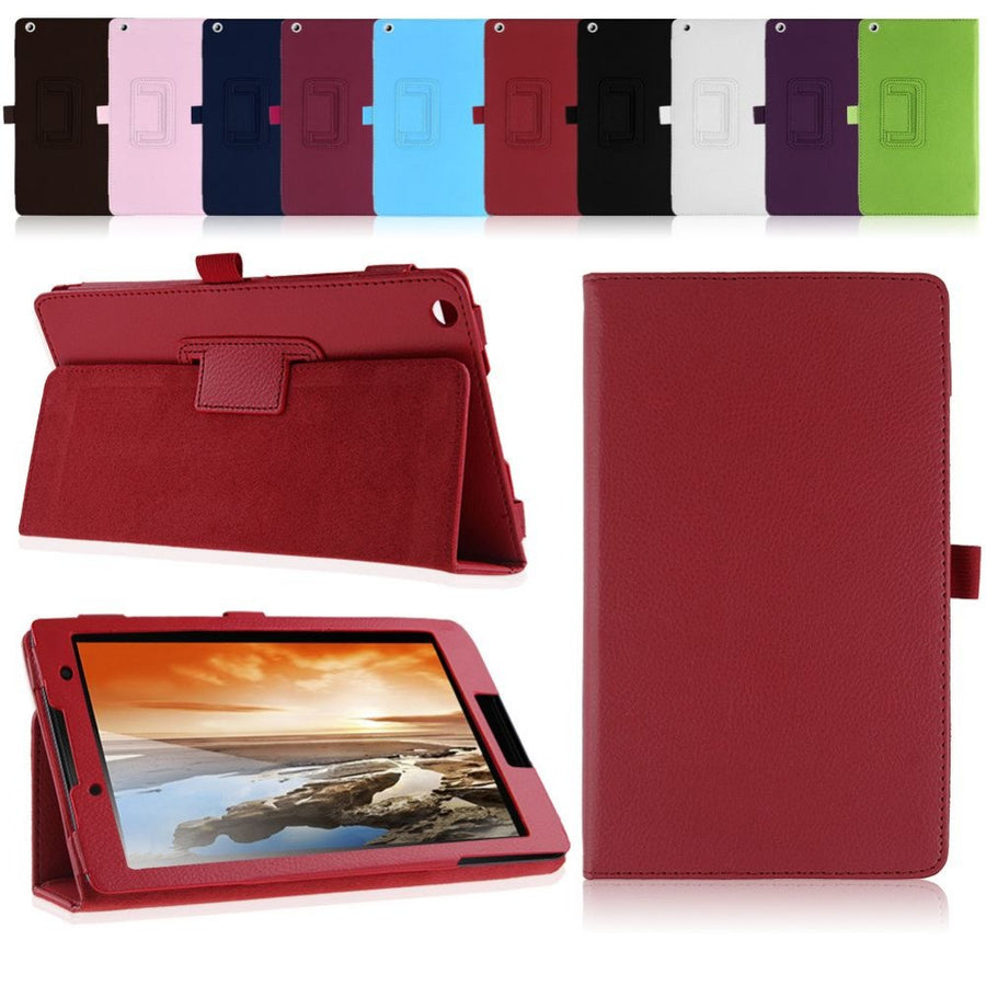 New Case For lenovo Tab3 8 TB3-850F/850M 8 inch leather stand protective cover for lenovo tab 2 A8-50 A8-50F A8-50LC 8'' tablet