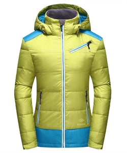2017 New Famous Brand Goose Down Jacket Women 90% White Duck Down Jacket Winter Warm Jacket Women Filling Power