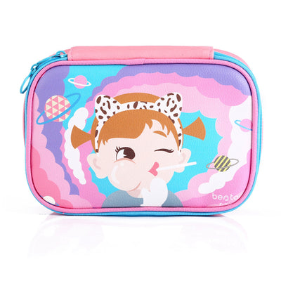 Lovely Character Cosmetic Bags Women Travel Makeup Bag Leather Woman Purses  Large Capacity Cosmetic Cases Mobile 4edf5d07ef4a