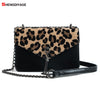 Leopard Fashion Trendy Chains Bag Female Famous Brands luxury handbag Women's purse crossbody messenger shoulder bags Sac A Main