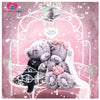 5d diamond painting cartoon bear Diamond cross stitch pictures Painting rhinestones Mosaic pictures Diamond mosaic patterns free