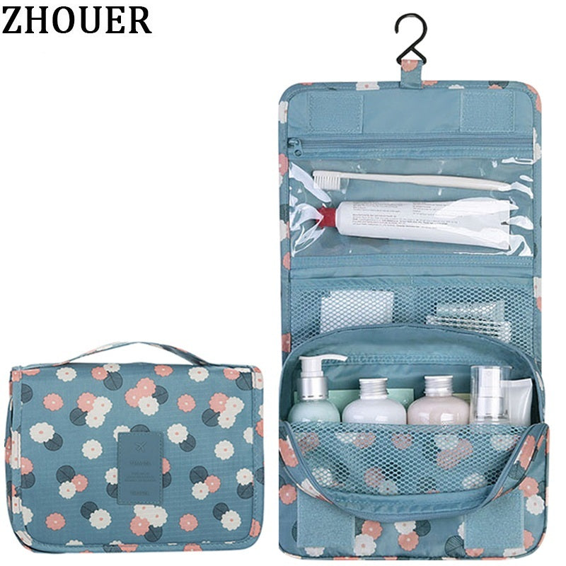 5a9badf1a2 Woman Cosmetic Bags Packing Cubes Organizer Makeup Bag Travel Necessary Bag  Large Capacity Storage Handbag Folding