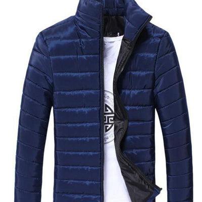 M-3xl Plus Size Casual Ultralight Mens Thickening Cotton Down Jackets Autumn & Winter Jacket Men Overcoats Man Coats