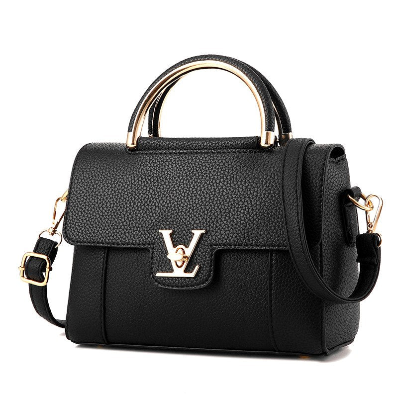 2018 Hot Flap V Women's Luxury Leather Clutch Bag Ladies Handbags Brand Women Messenger Bags Sac A Main Femme Famous Tote BagC97