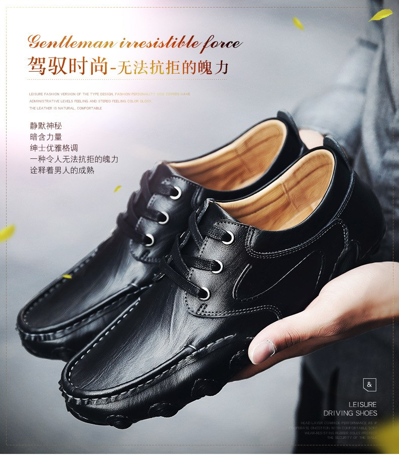 Genuine Leather Waterproof Hiking Shoes Men Non-slip Wearable Camping Travel Fishing Sports Shoes Leather Shoes Trekking Tactics
