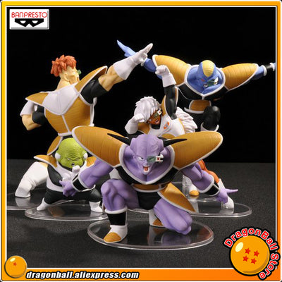"""Dragon Ball Z"" Original BANPRESTO DRAMATIC SHOWCASE 2nd season Collection Figure - Captain Ginyu Burter Jeice Recoom Guldo - upcube"