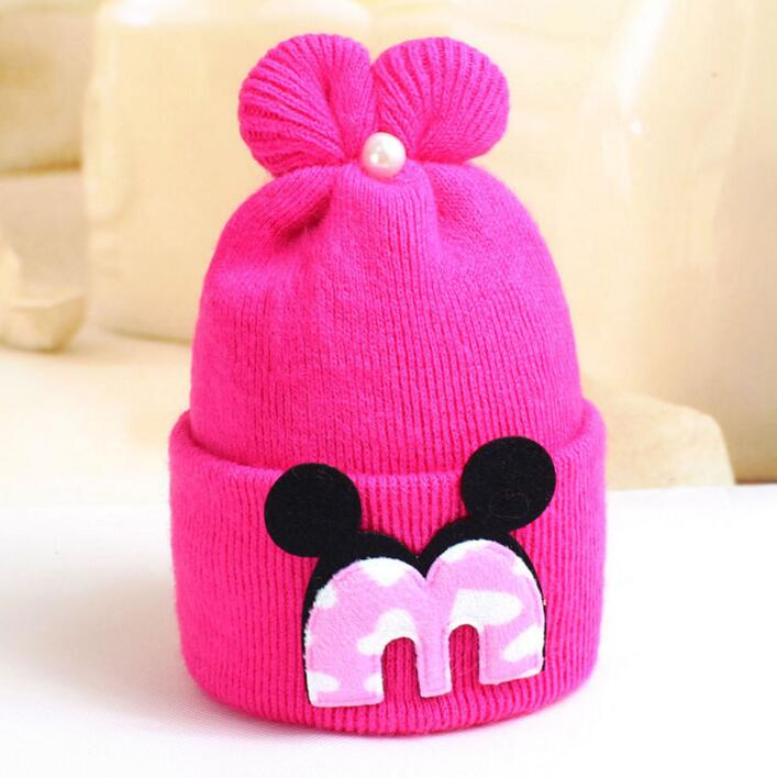 7014df84002 Top Quality Winter Toddler Infant Knitted Baby Hat Caps Adorable Rabbit  Long Ear Hat Baby Bunny