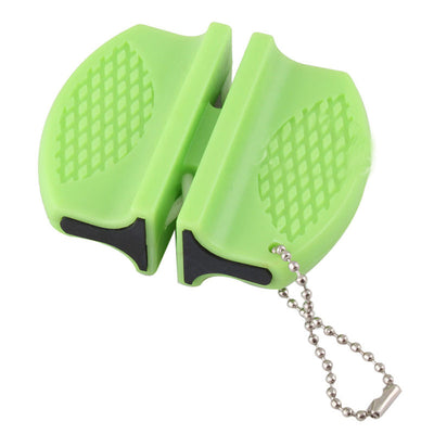 1pcs New Mini Ceramic Rod Tungsten Steel Camp Pocket Kitchen Knife Sharpener Tool  UpCube- upcube