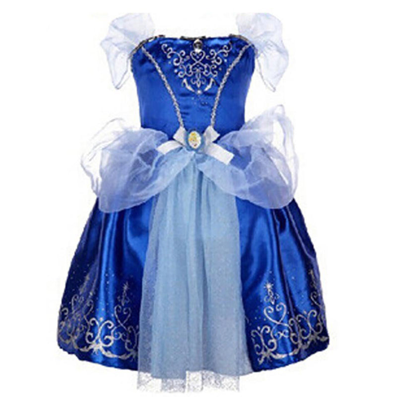 65327d45c New Baby Girls Cinderella Dresses Children Snow White Princess Dresses