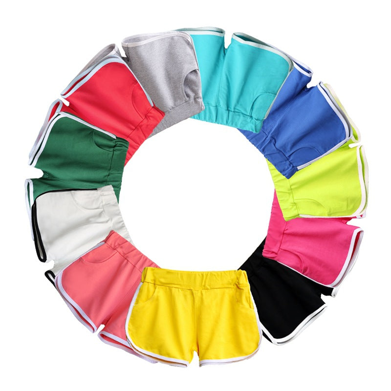 2018 Summer Fashion 1pc Hot Girl Women Shorts Candy Color Sexy Women Girl Elastic Waist Casual Shorts Soft Female Short Pants