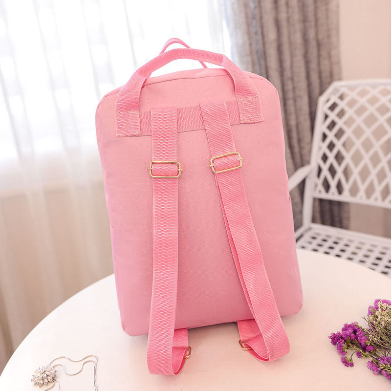 Japanese Cat Backpack For Women Girl Student Harajuku Cute School Bag Backpack Mochila Escolar Female Rucksack