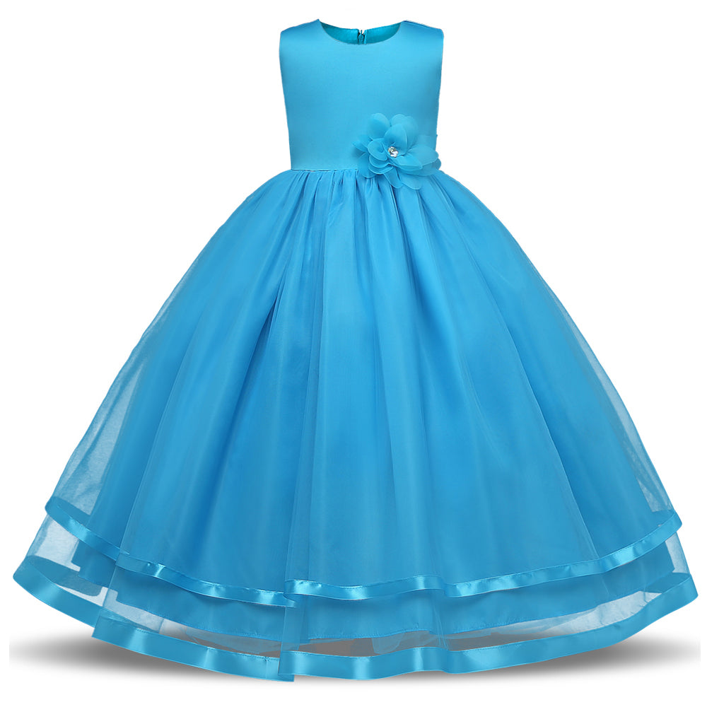 Ai Meng Baby Flower Girl Dress Kids Party Wear Children\'s Clothing ...