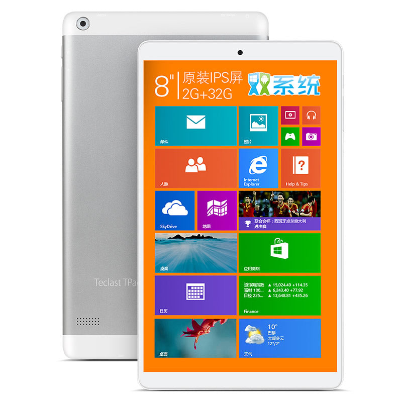 Newest !Original 8inch Teclast X80Hdual system Tablet PC Z3735F Quad Core 1280X800 IPS Screen 2GB/32GB micro HDMI