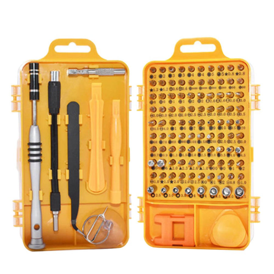 108 in 1 High Precision Screwdriver Set Disassemble For Tablets Phone Computer Watch Mini Electronic Repair Tools Kit - upcube