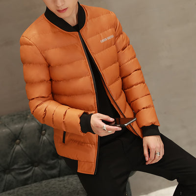 2017 brand-clothing cotton warm coat Male Coat Denim bomber jacket 4XL men's winter warm thicker face jacket  dailytechstudios- upcube