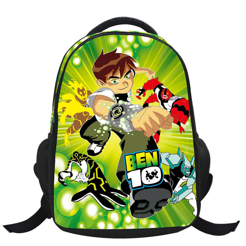 2017 Hot Sale School Backpack Orthopedic Cartoon Ben 10 Printing Girl Toddler Backpack Mochila Feminina Mochila Infantil 1-5