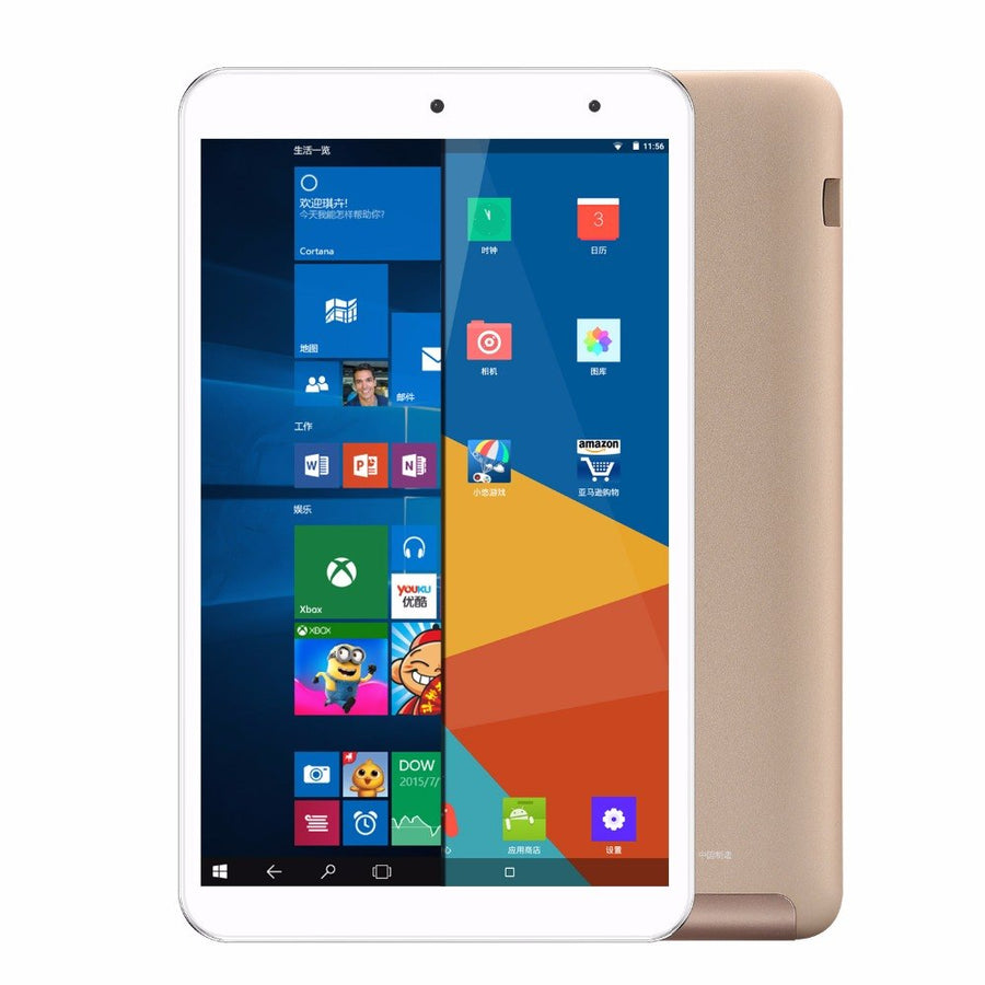 Onda V80 Plus Tablet PC  8 inch 1920*1200 intel X5-Z8350 Quad-Core Dual-Camera 2GB Ram 32GB Rom IPS Win 10 +Android 5.1  WiFi BT