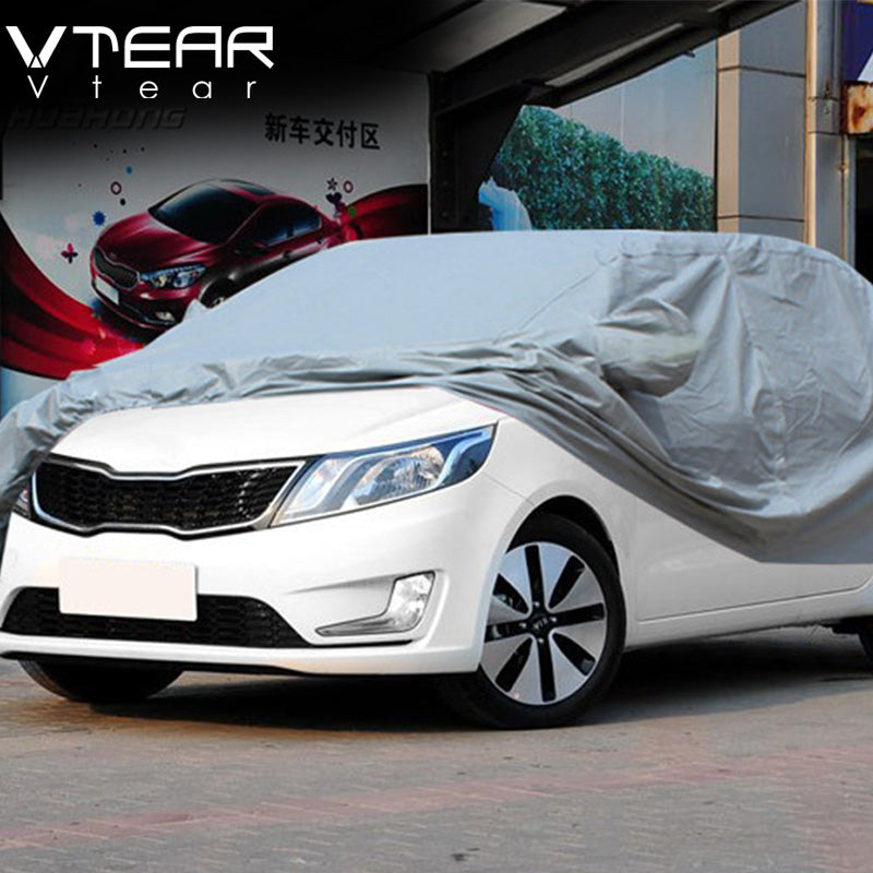 Vtear For KIA RIO K2 K3 K5 Cadenza SPORTAGE Sorento Carens soul Forte CERATO body Covers Dustproof Resist snow water sunlights
