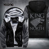 2017 new hot hoodies Mens Sweatshirts Game of Turomes king of north USA Size fast ship full Fleece best quality  dailytechstudios- upcube