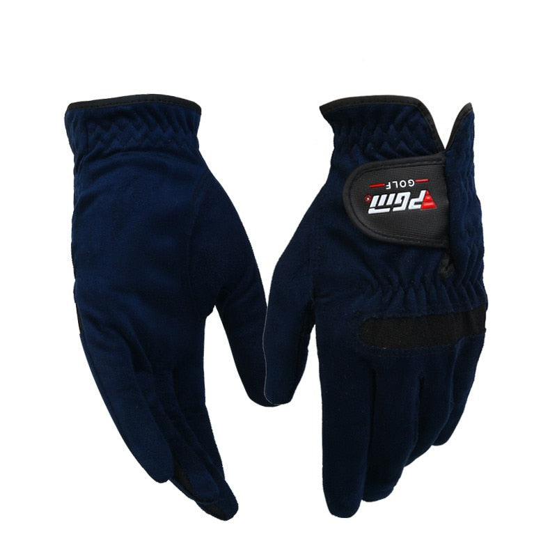 new  1pcs Golf Sports Mens Right Left Hand Golf Gloves Sweat Absorbent Microfiber Cloth Soft Breathable Abrasion Gloves