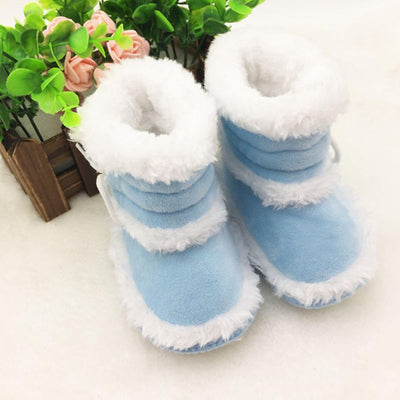 0-18 Months Toddler Baby Winter Warm Booties Girls Boy Soft Sole Boots Crib Infant Shoes New Prewalkers - upcube