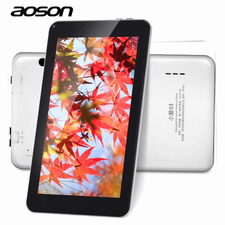 16GB ROM 7 Inch android 7.1 Tablet IPS screen 1024*600 touch Screen Quad Core Tablets With Stylus Pen for kids gift wifi tablet