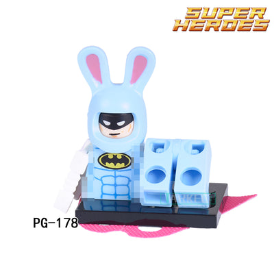 1pc Building Blocks Super Heroes Bricks Gingerbread Man Orca Shark Batman Movie Penguin Boy DIY Kids Toys Children Model Gift  UpCube- upcube
