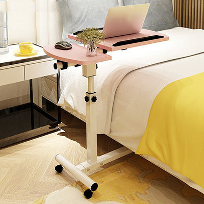 Furniture Lifting Mobile Computer Desk Bedside Sofa Bed Notebook Desktop Stand Table Learning Desk Folding Laptop Table Adjustable Height Office Furniture