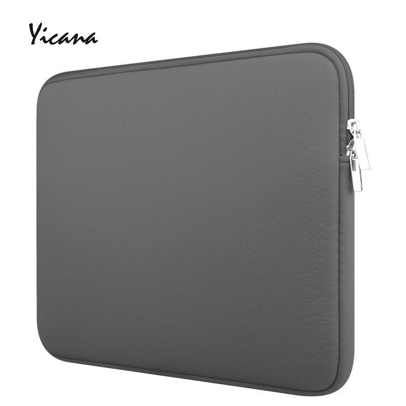 Free Shipping 11 12 13 14 15.6 inch Sleeve Laptop case for HP MacBook Air Pro Ultrabook Notebook Tablet Protable bag Zipper Soft