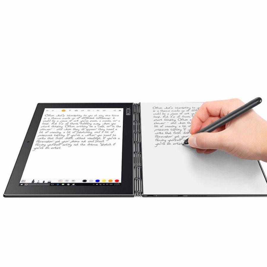 Lenovo YOGA BOOK X91L NetBook PC Tablet 10.1 inch 4GB 64GB Windows 10 Education / Pro Intel Atom x5-Z8550 Stylus Pen 4 Mode