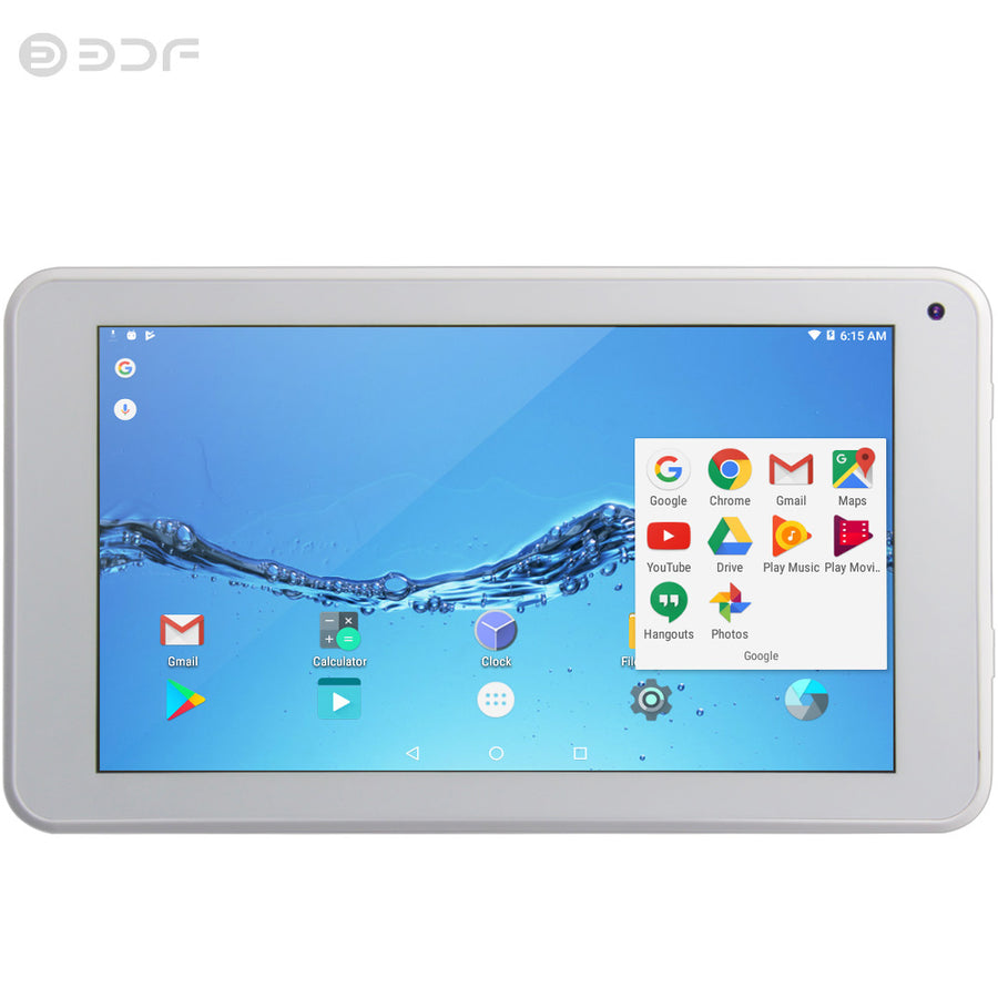 2018 New Tablets 7 Inch Android 6.0 Tablet Pc IPS LCD Screen Quad Core 1GB RAM 16GB ROM Mini Pad Support Extend TF card 2Mp Tab
