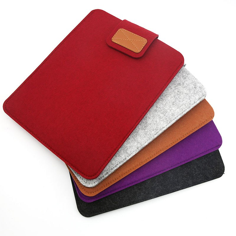 Eagwell 7.9 9.7 inch Universal Wool Felt Tablets Case Bag for iPad 2 3 4 Mini 4 Air 2 For Samsung Mipad Cover Case Pocket Pouch