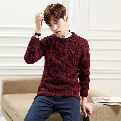 Kersttrui 68.Korean Designs Mens Wool Sweaters Harmont Blaine Men S Pullover Male D