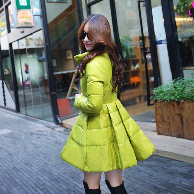 Winter Jacket Women Standard Parka Long Sleeve Women's Down Jackets Large Size black/yellow Colors Coat ukraine cloak park 2F001