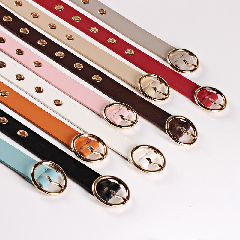 High Quality Ladies Designers Belts For Women Jeans 2018 Fashion Brass Buckles Belt Female Leather Belt Ceinture N123
