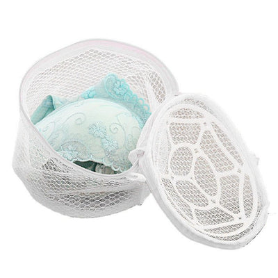 Lingerie Underwear Sock Women Bra Laundry Bag Mesh Clothes Washing Aid Net Zip Bags Hosiery Saver Bras Protector Rose F808