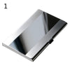 1PC Business ID Credit Card Holder Case Cover Waterproof Stainless Steel Metal Box Storage Office home Supplies Drop Shipping  UpCube- upcube