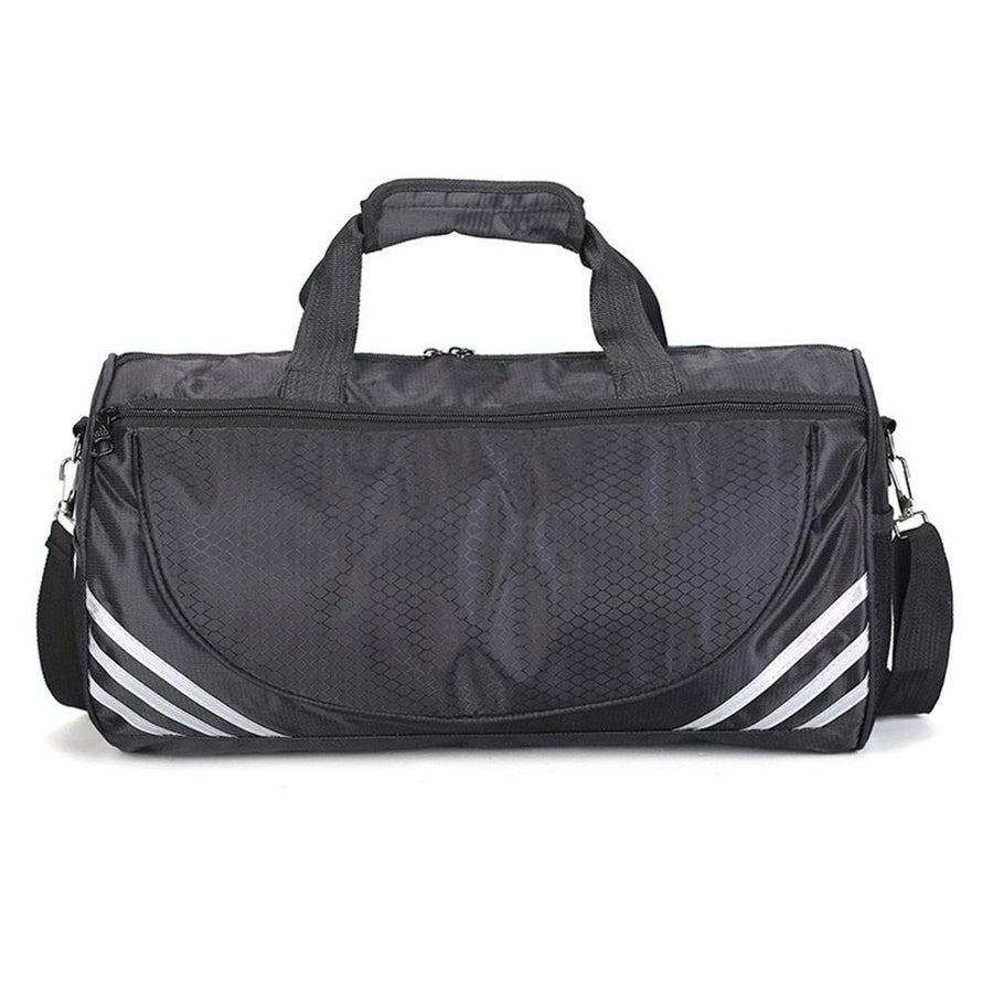 Men Travel Sports Bag Large Capacity Male Hand Luggage Travel Nylon Duffle Bags Nylon Weekend Multifunctional Gym Bag Fitness