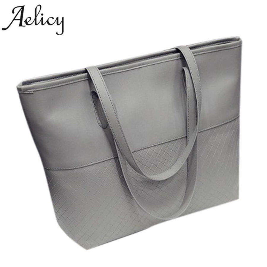 Aelicy New High Quality Women's Handbags Luxury Brand Women Shoulder Bag Soft Leather TopHandle Bags Ladies Tassel Tote bags