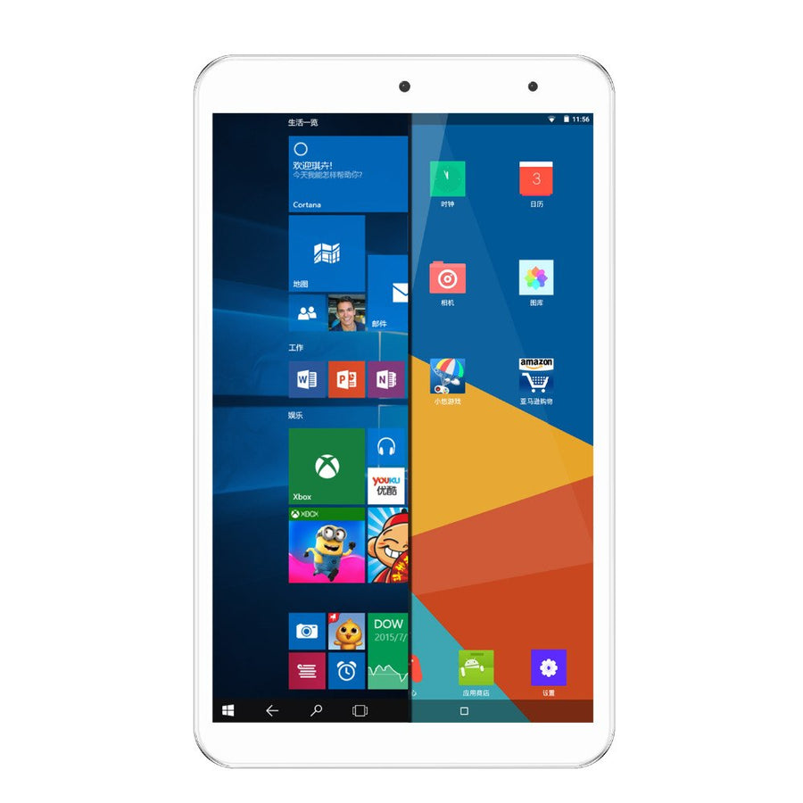 Onda V80 Plus 8 inch Tablet PC  intel z8350 Quad-core 1920*1200 IPS Screen 2GB Ram 32GB Emmc Win 10+Android 5.1 WiFi Bluetooth