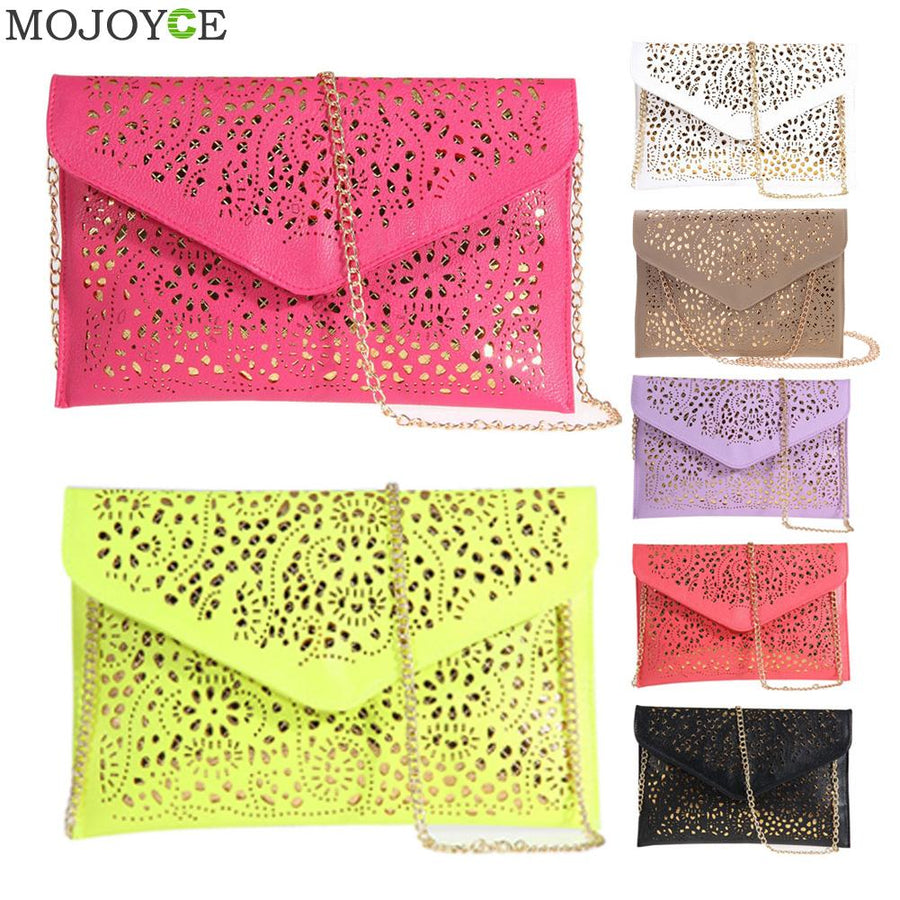Solid Women Envelope Bag Fashion Women's Clutch Bag New Designer Messenger Bags for Ladies Evening Party Bag Drop Shipping
