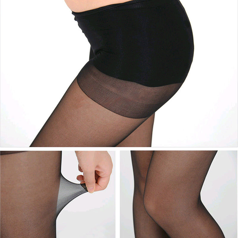 4 Colors Full Foot ladies Thin Sheer Tights Pantyhose sexy nylons transparent Stocking for women collant femme fantaisie