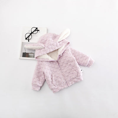 0-3 years Wholesale New 2017 Winter Cotton Good Quality Hoodie Baby Coat - upcube