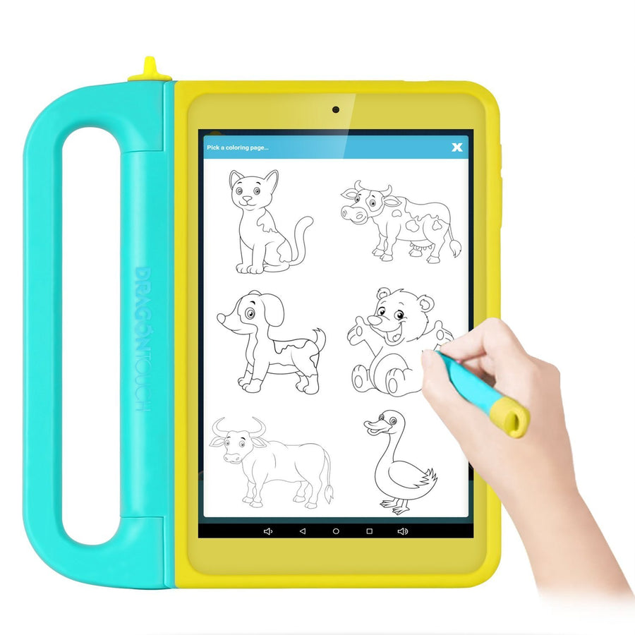 Dragon Touch K8 8inch Kids Tablet Kidoz Pre-Installed 2GB RAM 16GB ROM IPS Display Android 6.0 Marshmallow Android Tablet