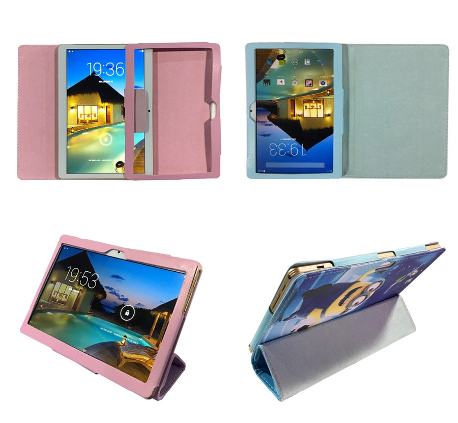 Stand Case for Irbis TZ960/TZ961/TZ962/TZ963/TZ965/TZ969 9.6 inch Tablet PU Leather Cover + free 2 pcs Screen Protector